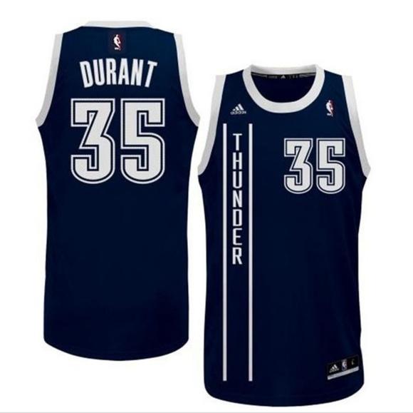 promo code 1584e 19afa OKC Thunder Kevin Durant Alternate Jersey sz L